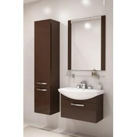 Зеркало Акватон АРИЯ 80 в коричневом цвете
