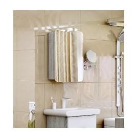 Зеркало-шкаф Aqwella Аликанте Л5 50 см дуб седой