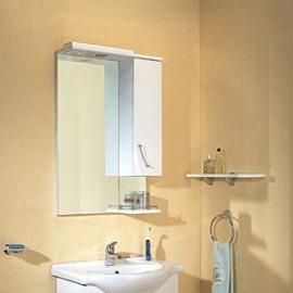 Зеркало со шкафчиком Aqwella Аликанте 55 см