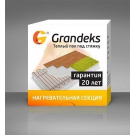Grandex G2- 500 Вт (2,7-4,0 м² ) Кабельный теплый пол под стяжку