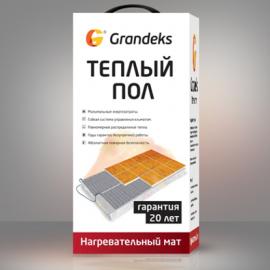 Grandex G2- 0,5/75  (0,5 м²) Система мат нагревательный двужильный