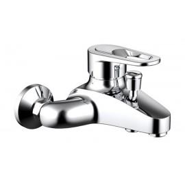 Смеситель для ванны Bravat Loop с коротким изливом