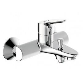 Смеситель для ванны Bravat  Drop короткий излив