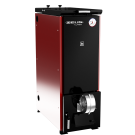 Термокрафт Zeus Turbo 22-30 кВт Котел угольный  полуавтоматический (пульт и вентилятор наддува)