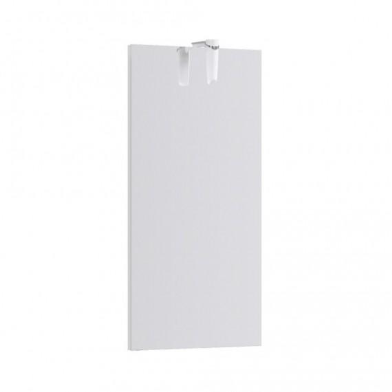 Зеркало со светильником Aqwella Леон-МР 60 см в  белом цвете