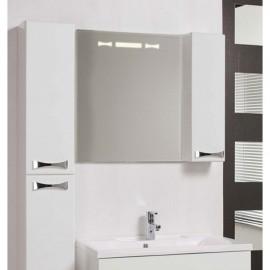 Зеркало со шкафчиком Акватон ДИОР 120 см
