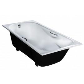 Чугунная ванна Сибирячка  с ручками 180х80  (высший сорт)