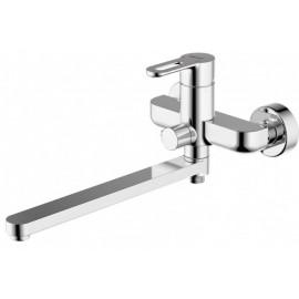 Bravat Stream-D Смеситель для ванны с длинным изливом