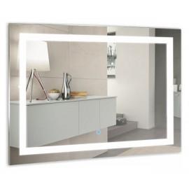 Зеркало Акварель Ливия 80 см с сенсорным выключателем