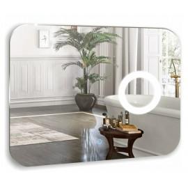 Зеркало Акварель Лиза 80 см с сенсорным выключателем