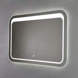 Зеркало Акварель Пульсар 80 см с сенсорным выключателем