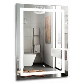 Зеркало Акварель Рига 60 см с сенсорным выключателем