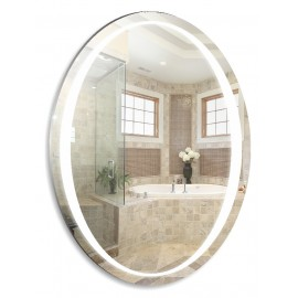 Зеркало Акварель Теона 57 см с сенсорным выключателем