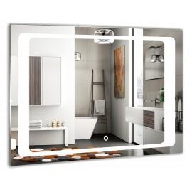 Зеркало Акварель Фортуна 80 см с сенсорным выключателем