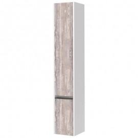Акватон Капри шкаф-колонна цвет бетон пайн левый