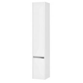 Акватон Стоун шкаф-колонна белый левый