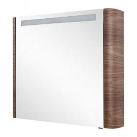 Зеркальный шкаф AM.PM Sensation 80 см левый, цвет орех