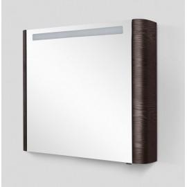 Зеркальный шкаф AM.PM Sensation 80 см левый, цвет табачный дуб