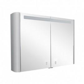 Зеркальный шкаф AM.PM Sensation 100 см цвет серый шелк