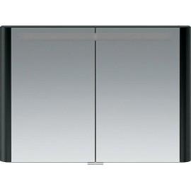Зеркальный шкаф AM.PM Sensation 100 см цвет антрацит