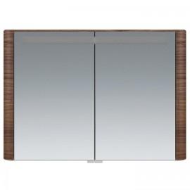 Зеркальный шкаф AM.PM Sensation 100 см цвет орех