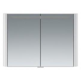 Зеркальный шкаф AM.PM Sensation 100 см цвет белый