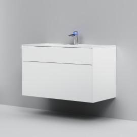 Тумба с раковиной AM.PM INSPIRE V2.0 80 см подвесная, цвет белый