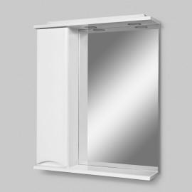 AM.PM Like Зеркало со шкафчиком и подсветкой 65 см ( шкафчик левый)