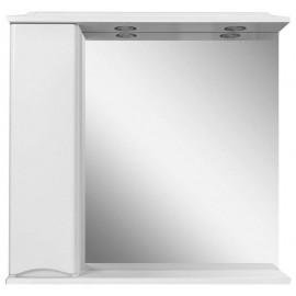 AM.PM Like Зеркало со шкафчиком и подсветкой 80 см (шкафчик слева)