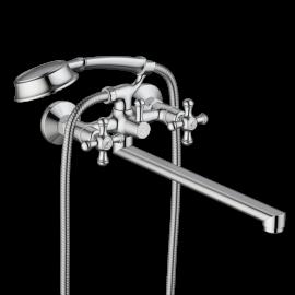 Daxima Retro смеситель для ванны/душа с длинным изливом, душ.гарнитуром