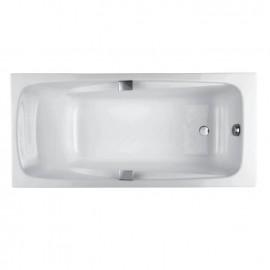 Jacob Delafon Repos 180х85 Чугунная ванна c отверстиями под ручки