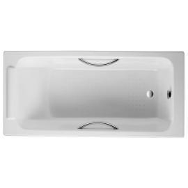 Jacob Delafon Parallel  150x70 Чугунная ванна с отверстиями под ручки