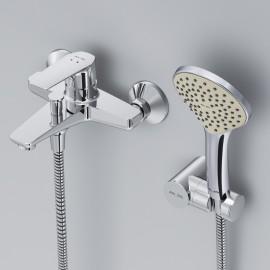 AM.PM Gem Смеситель для ванны и душа c душевым набором