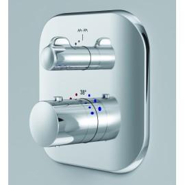 AM.PM Sensation  Смеситель для душа с термостатом, монтируемый в стену