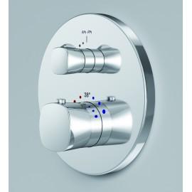AM.PM Spirit 2.1  Смеситель для душа с термостатом монтируемый в стену