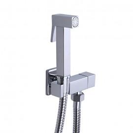 Frap Гигиенический душ для биде на стену с гигиенич.лейкой