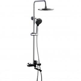 Frap Душевая система F2442 .с повор. изливом, троп. душ+душевая лейка