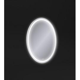 Зеркало LED 040 design 57x77 с подсветкой с антизапотеванием овальное