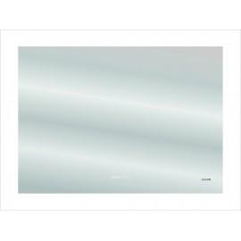 Зеркало Cersanit DESIGN Pro 060 80х60 с часами и антизапотеванием