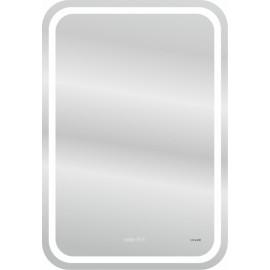 Зеркало Cersanit  DESIGN Pro 050 55х80 с часами и антизапотеванием, хол и тепл свет