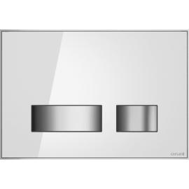 Кнопка MOVI для LINK PRO/VECTOR/LINK/HI-TEC стекло белый(9316)