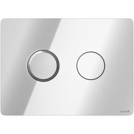 Кнопка ACCENTO для AQUA 50 пневматическая пластик хром глянцевый(9321)