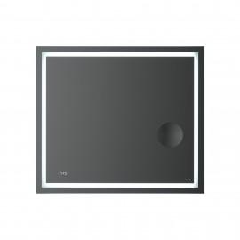 AM.PM универсальное зеркало с контурной Led-подсветкой, часами и косметическим зеркалом, 80