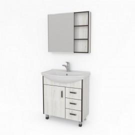 Какса-А Винтер 75 Комплект мебели для ванной комнаты