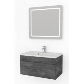 Какса-А Кристалл Комплект мебели подвесной 80 серый