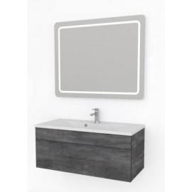 Какса-А Кристалл Комплект мебели подвесной 100 серый