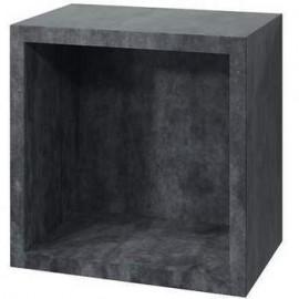 Какса-А Кристалл Полка кубик серый