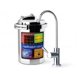 Гейзер-Эко Фильтр для воды компактный под мойку